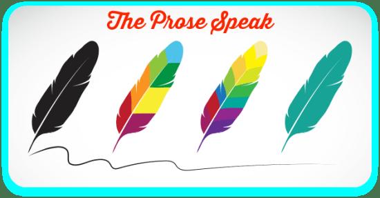The Prose Speak Banner