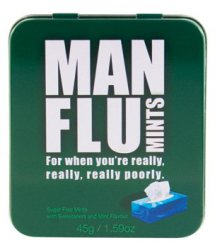 Man Flu Novelty Gifts Mints