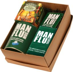 Man Flu Novelty Gifts Set Box