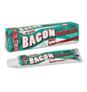 Novelty Bacon Gifts Toothpaste