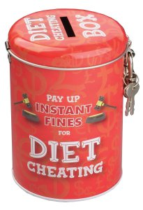 Novelty Diet Gifts Fine Tin