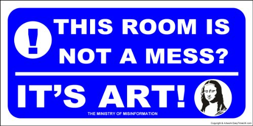 Messy Bedroom Sign