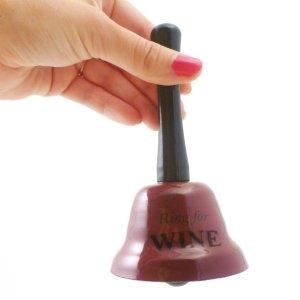 Ring for Wine Bell Novelty Gift Idea