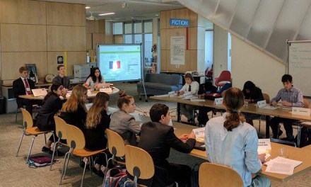 Nueva Holds Second MUN Conference