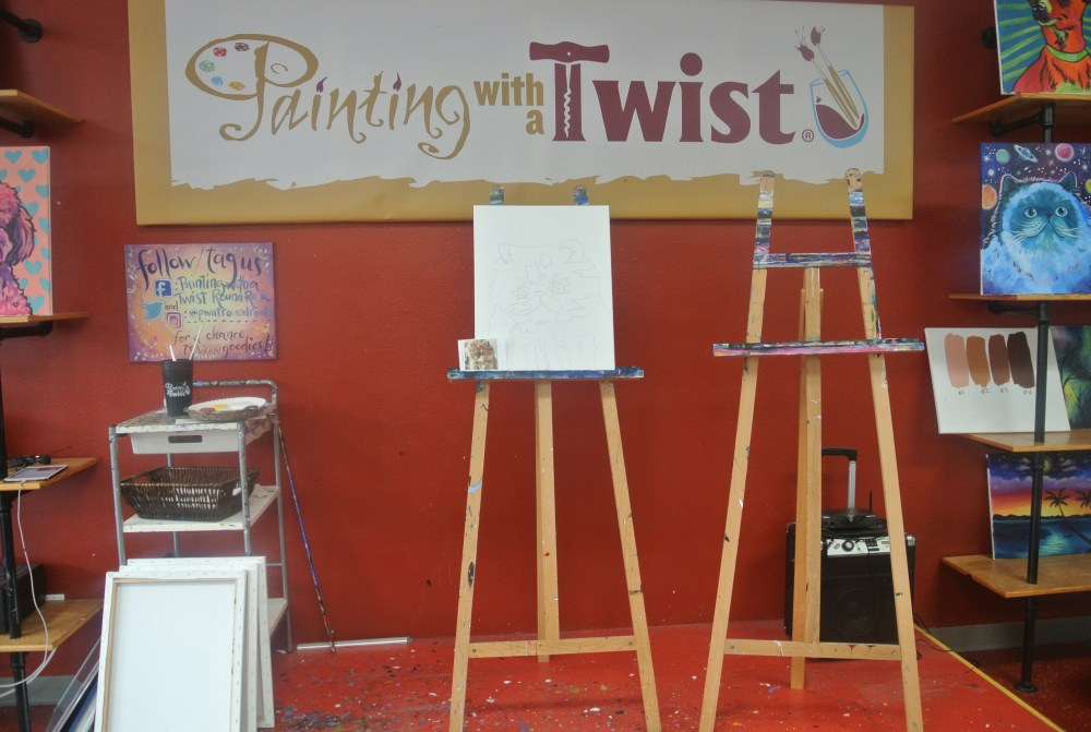 Date Night: Painting With A Twist [PLUS **GIVEAWAY**] - The Nueva Latina