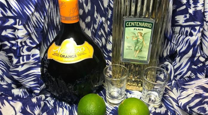 Margarita Shots with Agavero Orange - The Nueva Latina