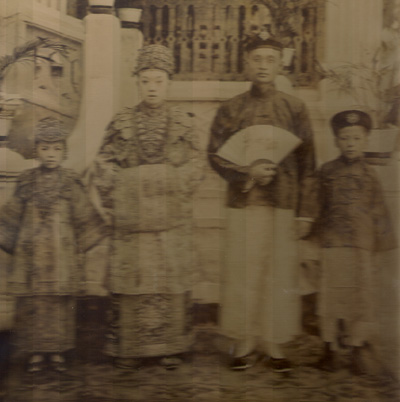Great-grandparents' Peranakan wedding