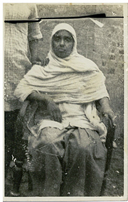 Paternal grandmother in Delhi, India, around the mid 1940s.