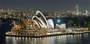 Sydney Opera House (source: Wiki Commons)