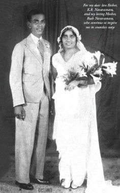 Ramon's parents on their wedding day in 1934