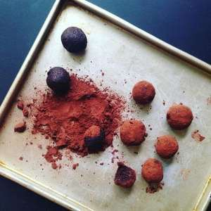Chocolate and Sweet Potato Truffles