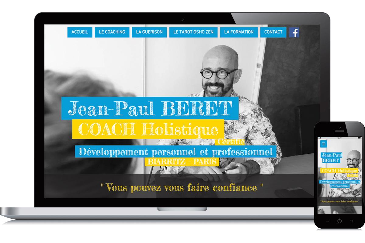 Création du site de Jean-Paul Béret