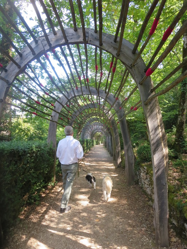 One of many art installations, the Archway is an amazing long, long, long walkway created by the artist Gerard Chabert.