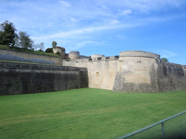 Moat outside the Citadelle.