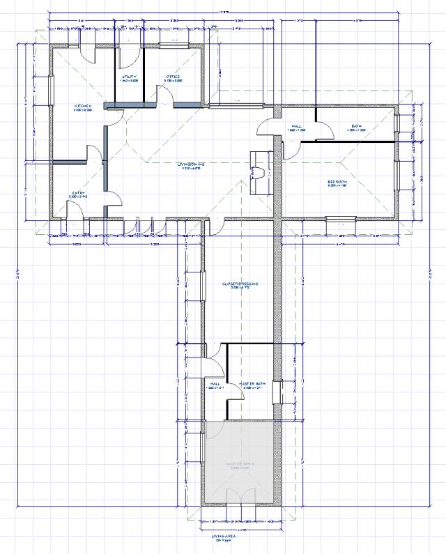 Le Coudeau Floor Plan: Maison Principale