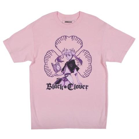 Black Clover Noelle Pink Tee