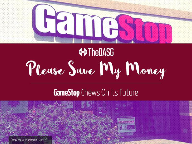 GameStop Chews On Its Future