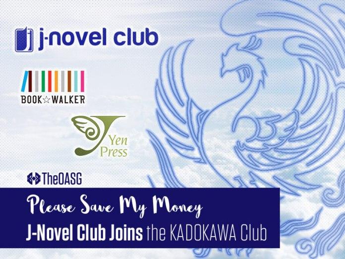 J-Novel Club Joins the KADOKAWA Club