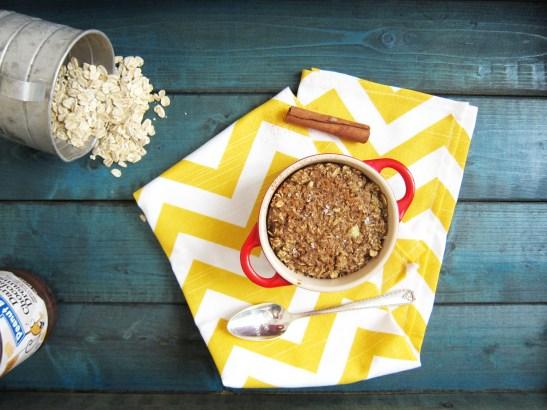 churro baked oatmeal (1)