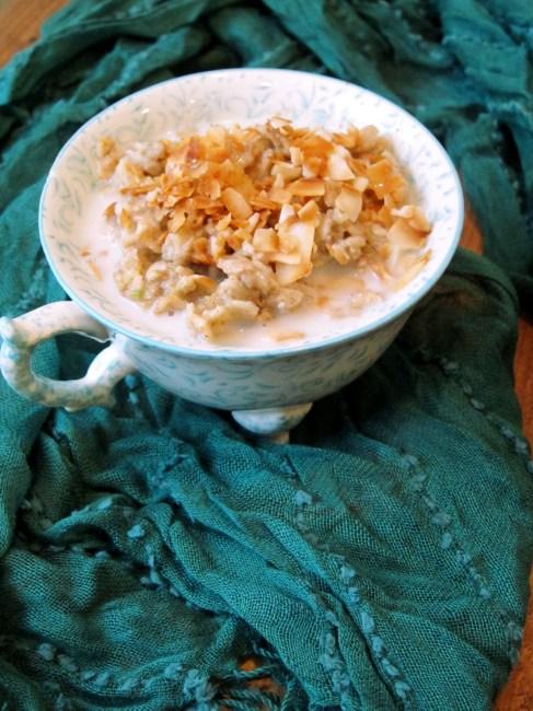 Chai Coconut Zucchini Oatmeal by The Oatmeal Artist