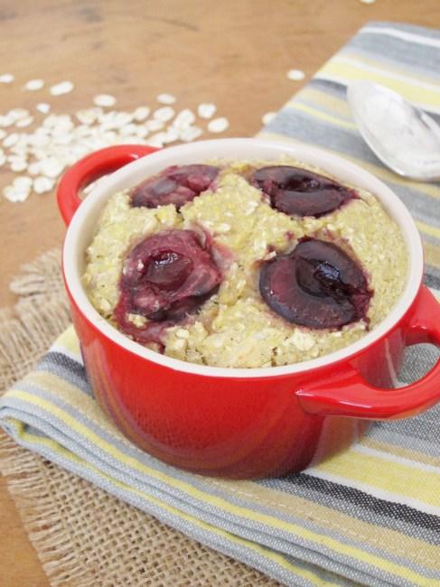 Cherry Macadamia Baked Oatmeal