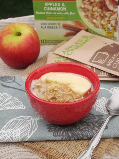 Enhance Flavored Oatmeal - Apple Cinnamon