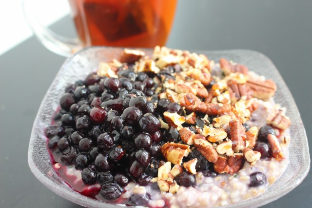 Blueberry-Basil-Pecan-Oatmeal
