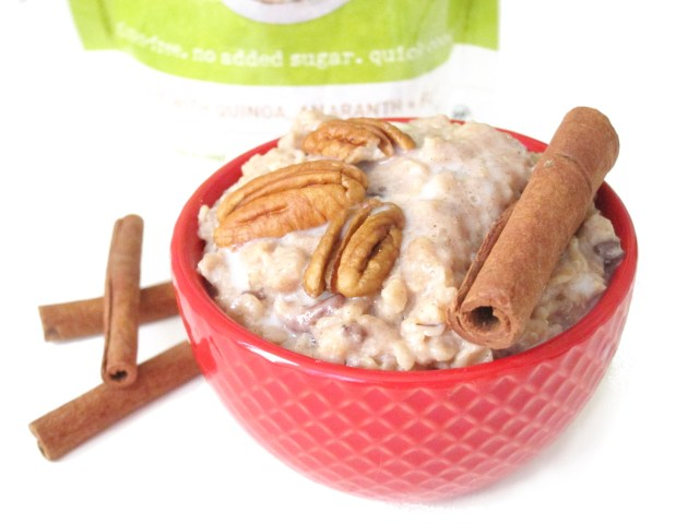 Purely Elizabeth Apple Cinnamon Pecan Ancient Grains Instant Oatmeal