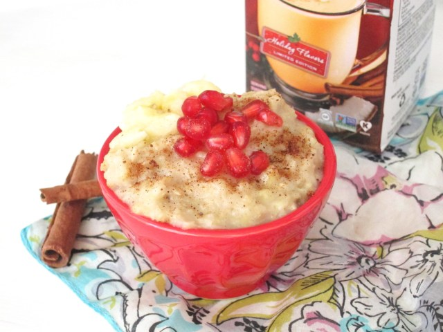 Banana Eggnog Oatmeal #vegan #oatmealartist