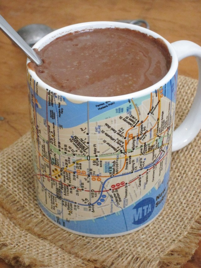 Thick, European-Style Vegan Hot Chocolate