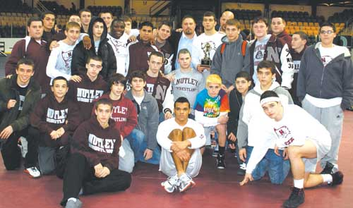 Nutley grapplers take rivals to mat in capturing Essex County title