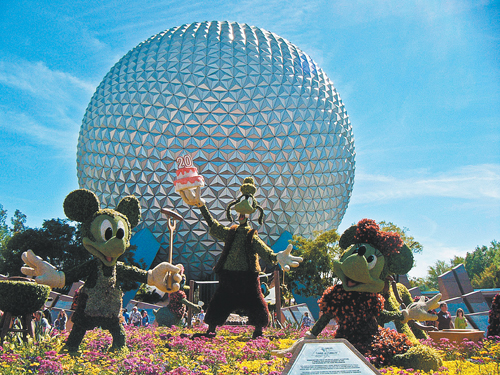 Epcot-Disney by Rosemarie Linfante.