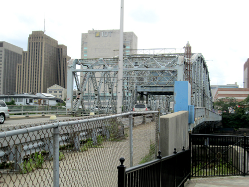 Photo by Ron Leir The Bridge St. Bridge, looking toward Newark from Harrison.