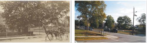 Photo (left) courtesy Kearny Museum Photo (right) by Karen Zautyk