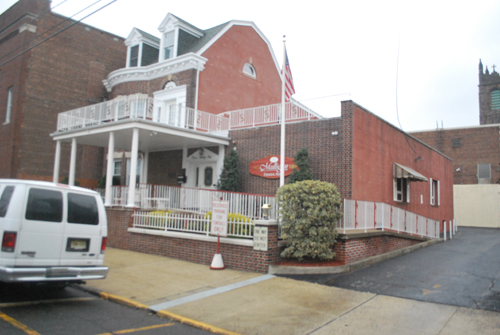 Photos by Anthony Machcinski Interior and exterior of Mulligan Funeral Home.
