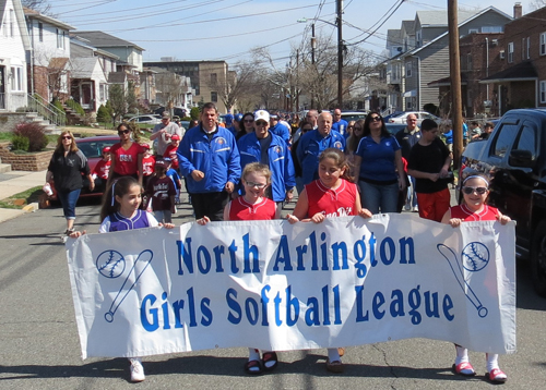 Photo courtesy Borough of North Arlington North Arlington Girls' Softball League kicks off its season with a parade Saturday ... and some unexpected political flap.