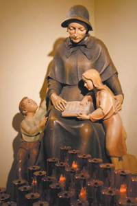 Photo by Karen Zautyk Shrine to St. Elizabeth Ann Seton