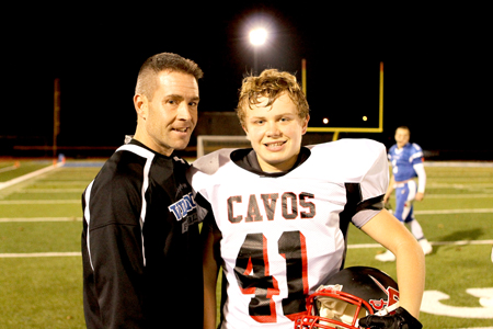 Marck father, son become opponents on football field – The