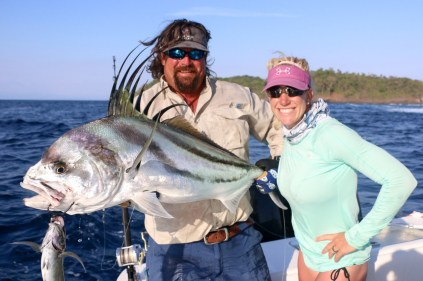 Carter and Moe with Roosterfish