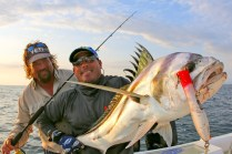 Carter and Eric with Roosterfish