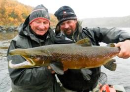 Dad & Carter & Salmon