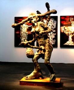 Sculpture  (Baal?)