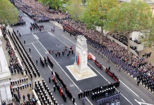Her_Majesty_the_Queen_Lays_a_Wreath_at_the_Cenotaph_London_During_Remembrance_Sunday_Service_MOD_45152054-1