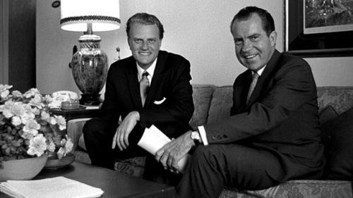 Billy Graham and Richard Nixon