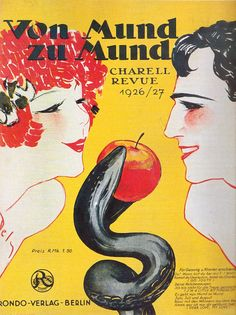 Revue poster from the Weimar Republic