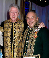Green and Bill Clinton