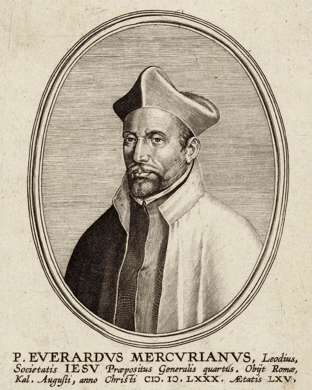 Everard Mercurian (1514-1580)