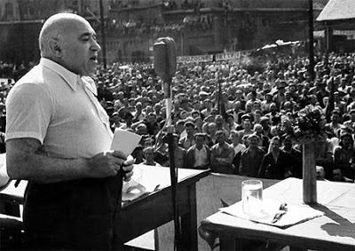 Jewish Stalinist leader of Hungary Mátyás Rákosi