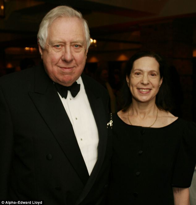 Roy Hattersley and his Jewish wife
