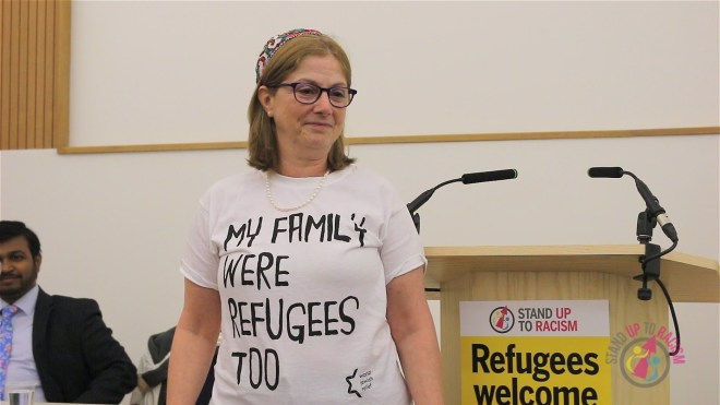 """My family were refugees too"": Rabbi Lee Wax stands up to racism"